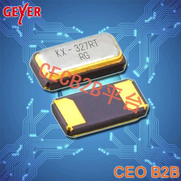 GEYER晶振,贴片晶振,KX–327VT晶振,工业级1210石英晶体