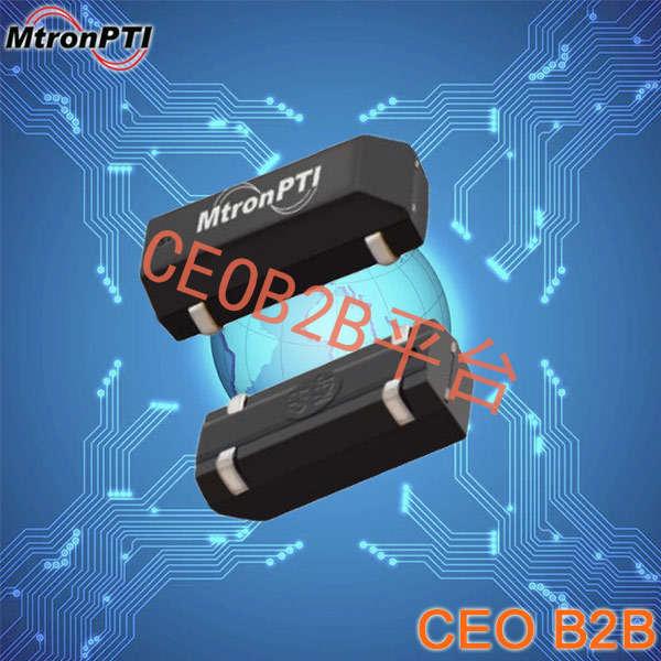 MtronPTI晶振,贴片晶振,SX1555-R晶振,大体积陶瓷面千赫晶体