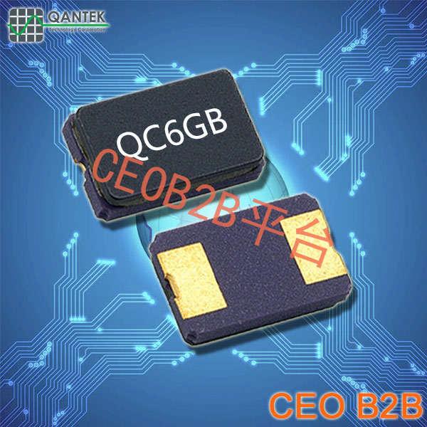 QANTEK晶振,贴片晶振,QC5GB晶振,陶瓷封装压电石英晶振