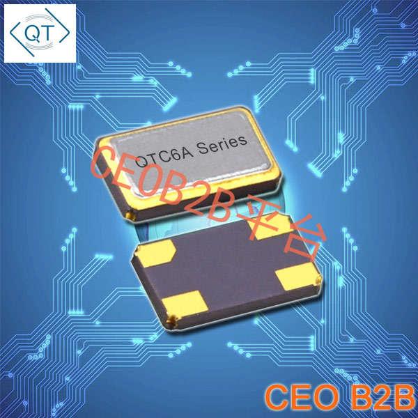 QuartzChnik晶振,贴片晶振,QTC6A晶振,6035mm石英晶体