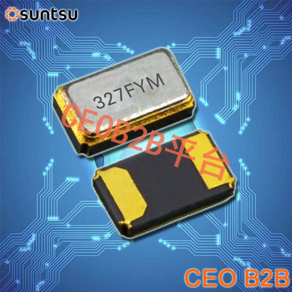 SUNTSU晶振,贴片晶振,SWS412晶振,4115mmSMT钟表晶体