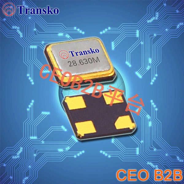 Transko晶振,贴片晶振,CS21晶振,2016四脚石英晶体