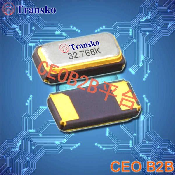 Transko晶振,贴片晶振,CS31晶振,3.2*1.5mm音叉晶体