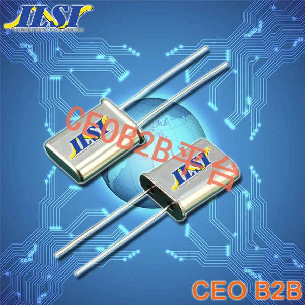 ILSI晶振,石英晶振,HC49U晶振,49U插件晶振