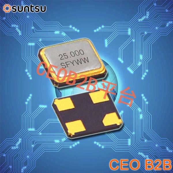 SUNTSU晶振,贴片晶振,SXT224晶振,美国进口晶振