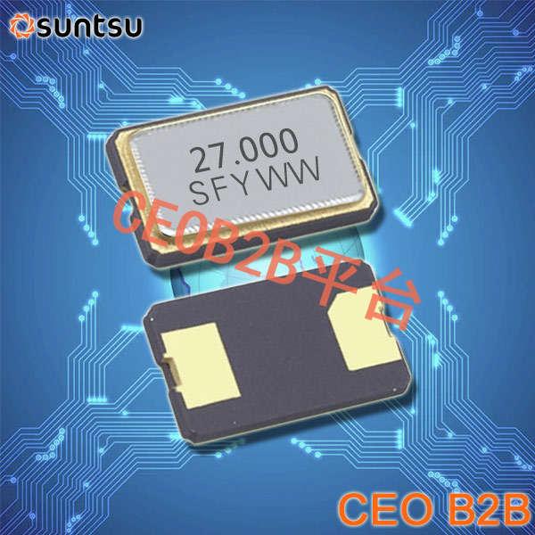 SUNTSU晶振,贴片晶振,SXT632晶振,进口贴片晶振