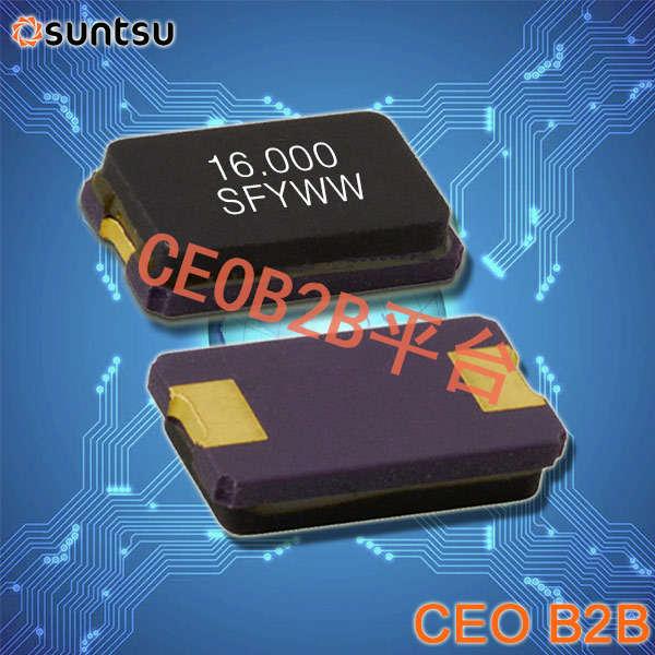 SUNTSU晶振,贴片晶振,SXT5G2晶振,陶瓷面贴片晶振