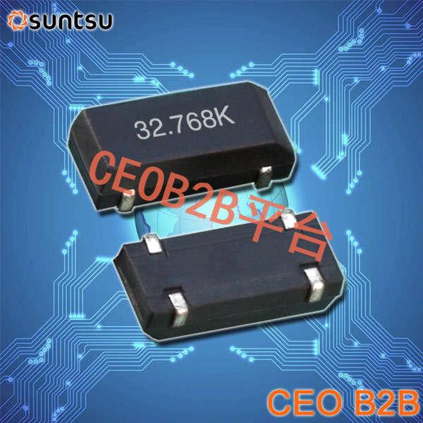 SUNTSU晶振,贴片晶振,SWS834晶振,32.768K晶振