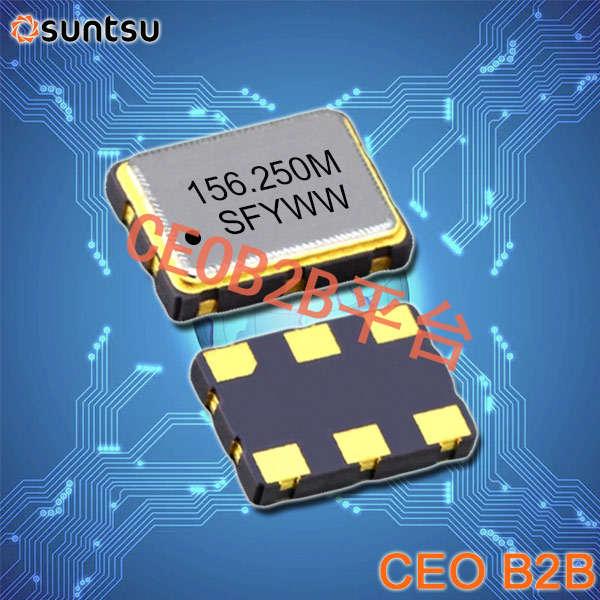 SUNTSU晶振,有源晶振,SUO32P晶振,OSC进口晶振