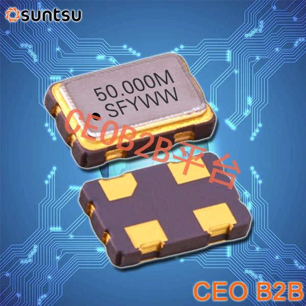 SUNTSU晶振,有源晶振,SQC53C晶振,4脚OSC晶振