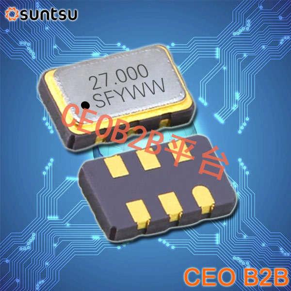 SUNTSU晶振,有源晶振,SQG53L晶振,LVDS Crystal