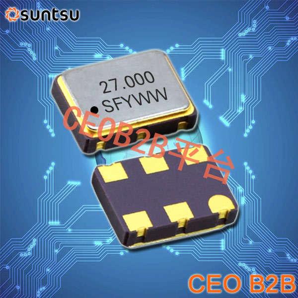 SUNTSU晶振,有源晶振,SQG75L晶振,基站通讯晶振