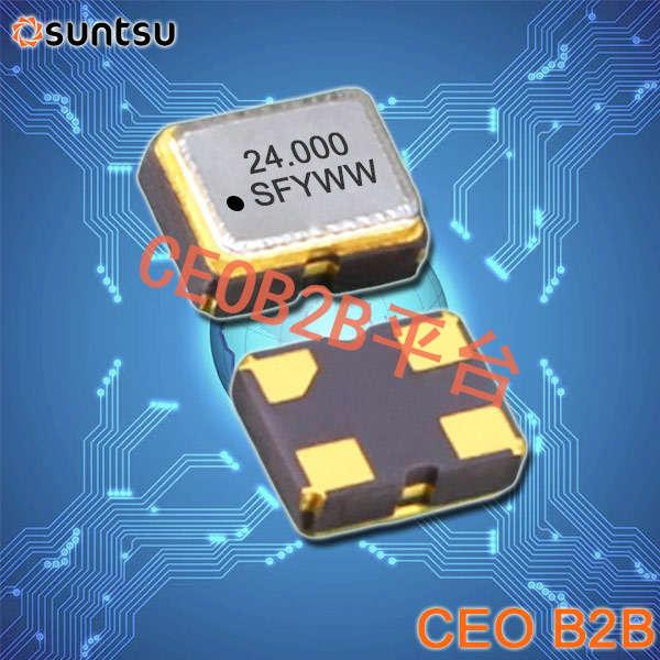 SUNTSU晶振,32.768K有源晶振,SXO22C晶振,电信交换机晶振