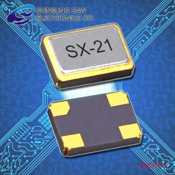 SHINSUNG晶振,2016水晶振子,SX-21谐振器
