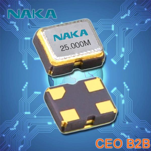 NAKA晶振,小型石英晶体振荡器,SP250有源晶振