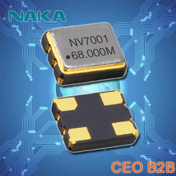 NAKA晶振,3225石英晶体,SP300振荡器