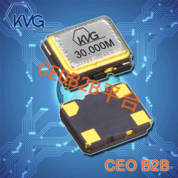 KVG晶振,3225贴片晶振,T-32000有源晶体