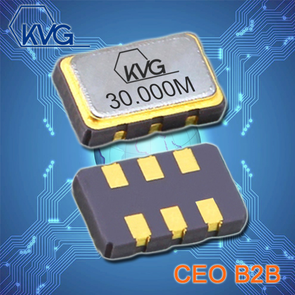 KVG晶振,5032石英晶体,V-9900压控晶振