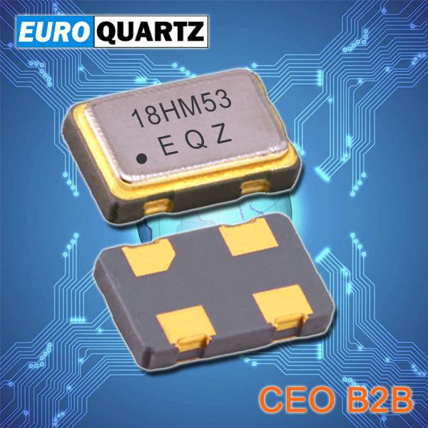 Euroquartz晶振,四脚贴片晶振,EM22S温补振荡器
