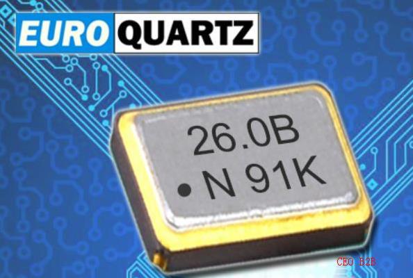 Euroquartz晶振,2016振荡器,EM21S贴片晶振