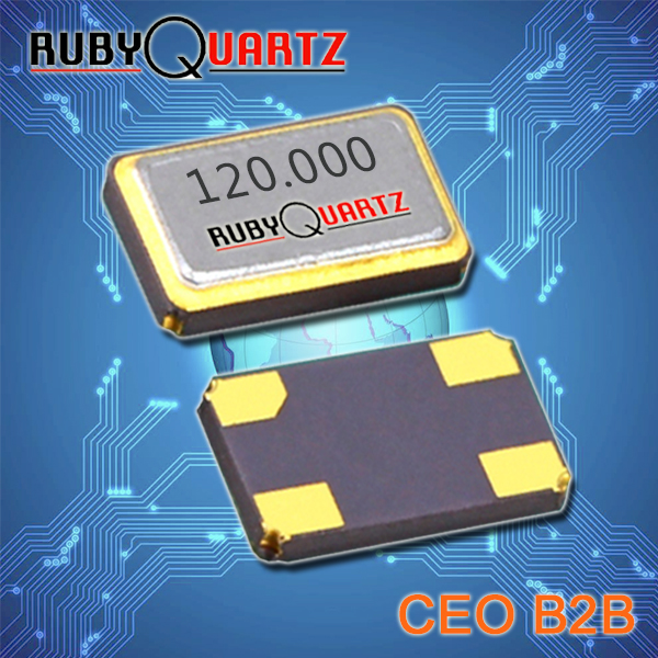 Rubyquartz晶振,2016石英晶体谐振器,R2016石英晶体