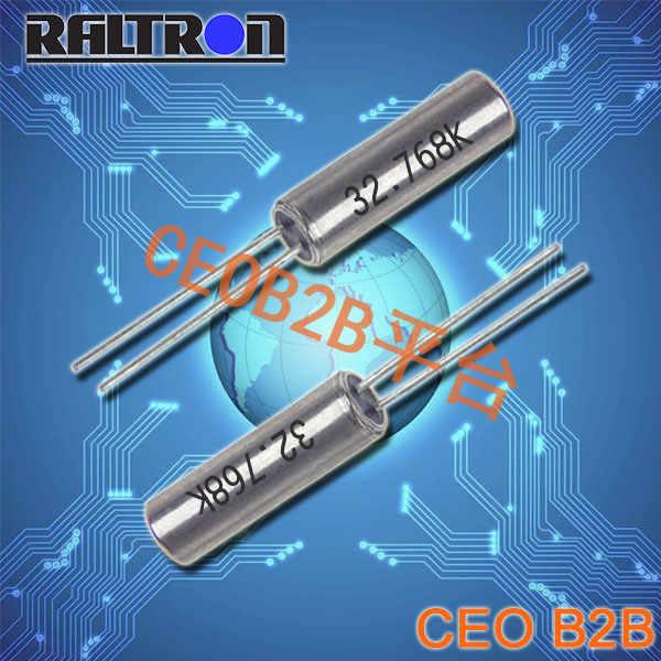 Raltron晶振,CSA 309晶振,圆柱晶振