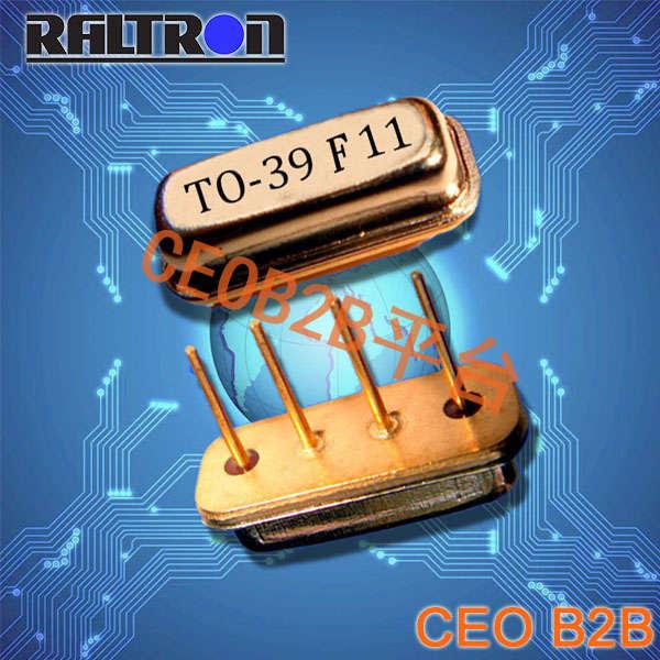 Raltron晶振,RSR Series-B晶振,SAW谐振器