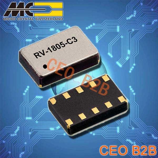 微晶晶振,石英晶体振荡器,RV-8564-C3晶振