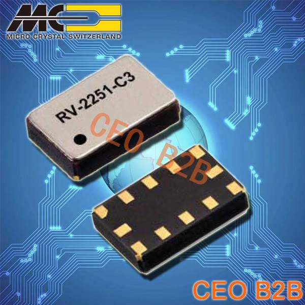 微晶晶振,石英晶体振荡器,RV-2251-C3晶振